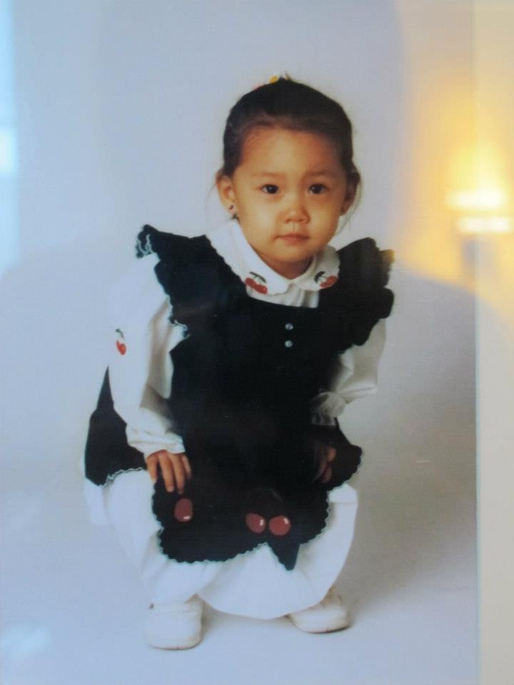 Girls Generation Yoona baby picture