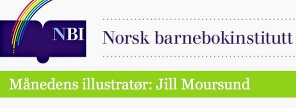 Månedens illustratør på Norsk barnebokinstitutt
