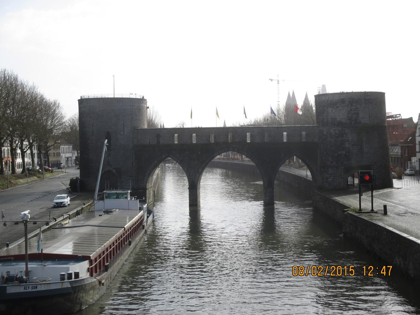 le Pont des Trous Doornik