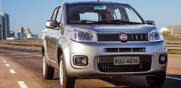 Novo Uno 2015 fotos lançamento da Fiat