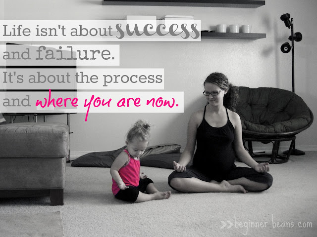 Yoga + Life: It's Not About Success and Failure
