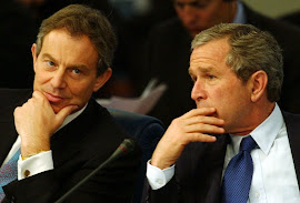 Blair e Bush: criminosos de guerra