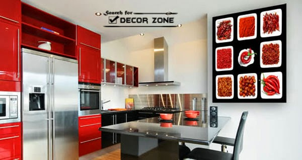 Kitchen wall decor 15 ideas and options for Decor zone false ceiling