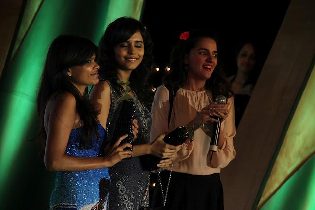 shruti seth l'oreal femina awards dress