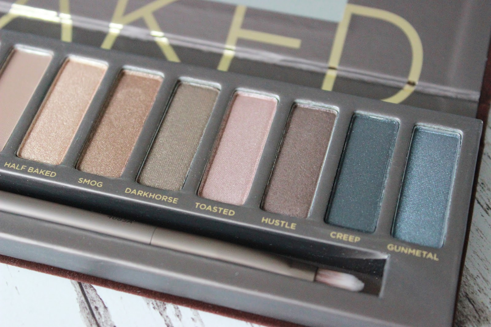 Urban Decay Naked Palette close up