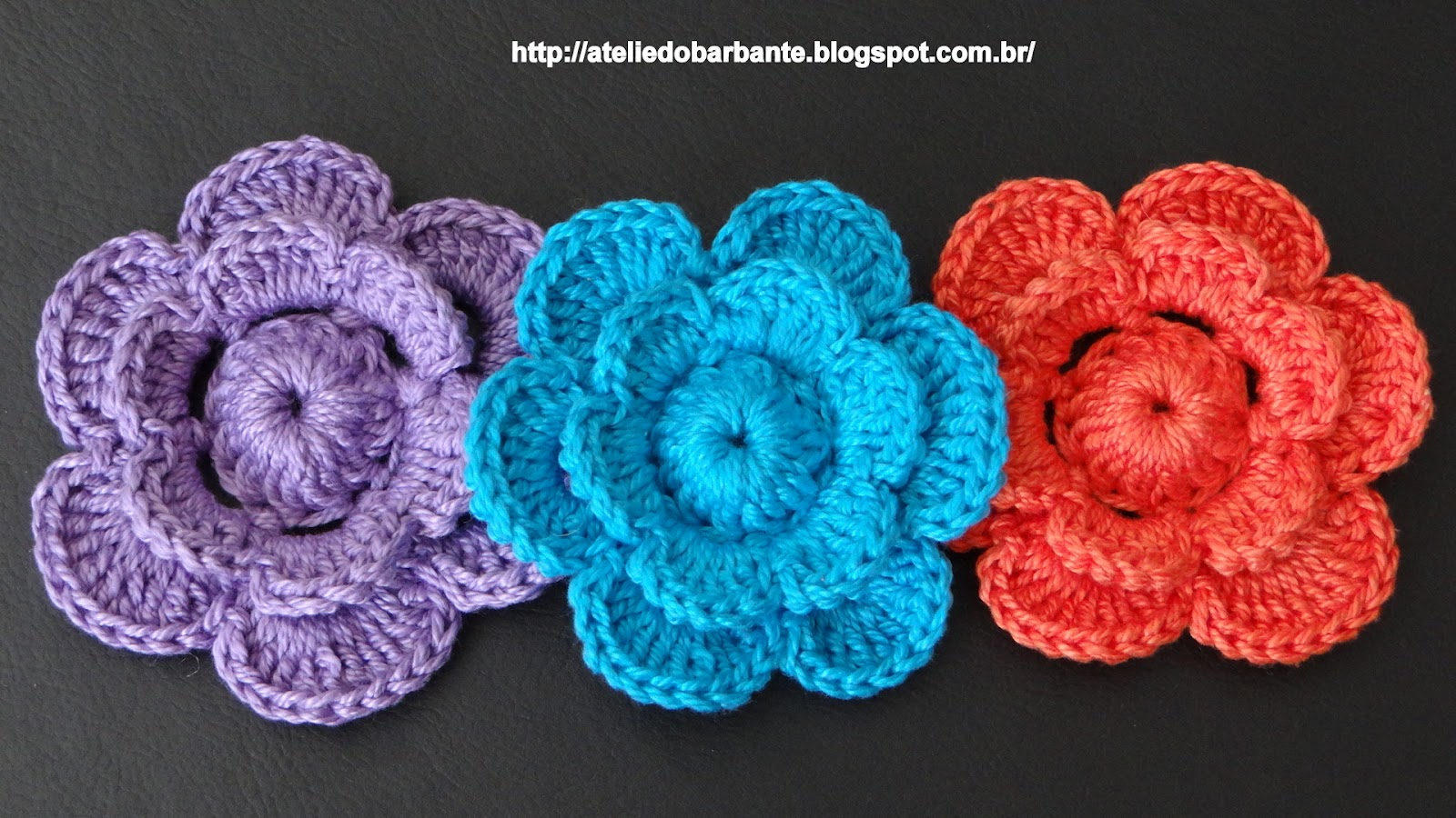 Flores De Croche Passo a Passo