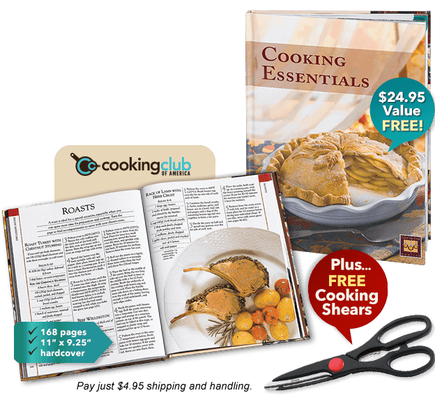 Get Your Free Cookbook