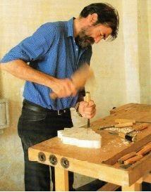 Alberto Cappellino scuola intaglio legno Melezet