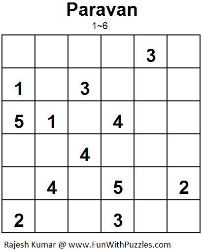 Paravan (Mini Puzzles Series #10)