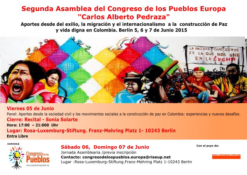 Berlin - Congreso de los pueblos