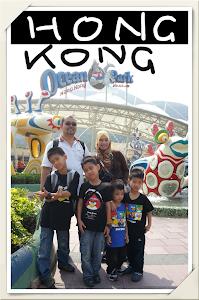 PERCUTIAN KE HONG KONG OCEAN PARK :
