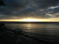 Rambla Uruguay Piriapolis atardecer playa paisaje