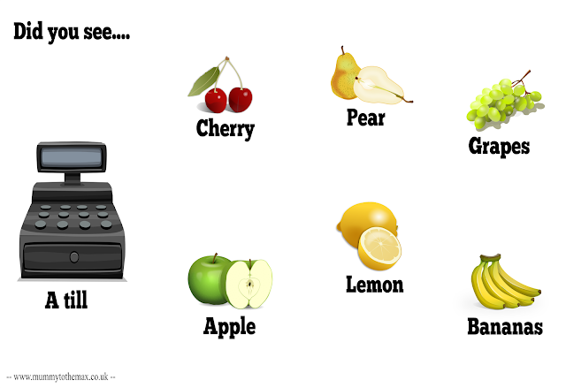 Downloadable Picture Card - Fruit