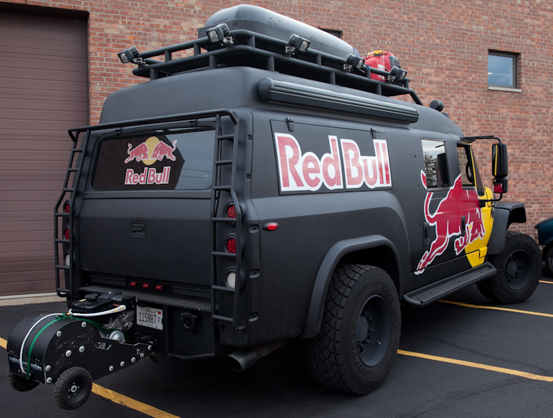 the isis intelligent multiplex system red bull promotional truck wired with isis. Black Bedroom Furniture Sets. Home Design Ideas