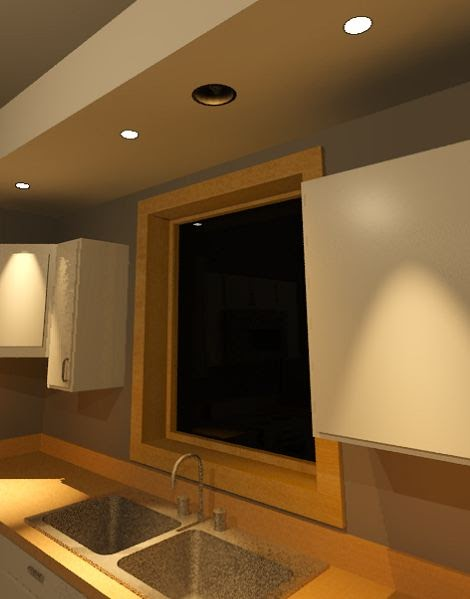 Recessed Lights In Dining Room Layout