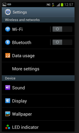 Manage Connection Settings in Smartphones