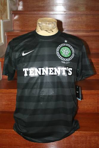 Jersey Celtic Away Hitam 2012/2013