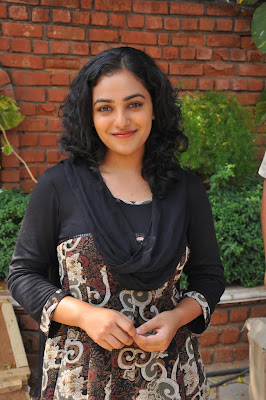 nitya menon new @ okkadine onlocation hot images