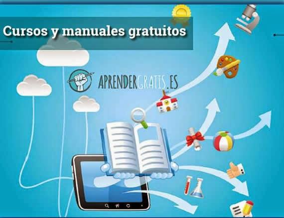 AprenderGratis. Una web para buscar cursos y manuales gratuitos
