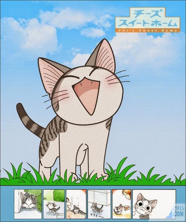 poster Mái Ấm Của Mèo Chii