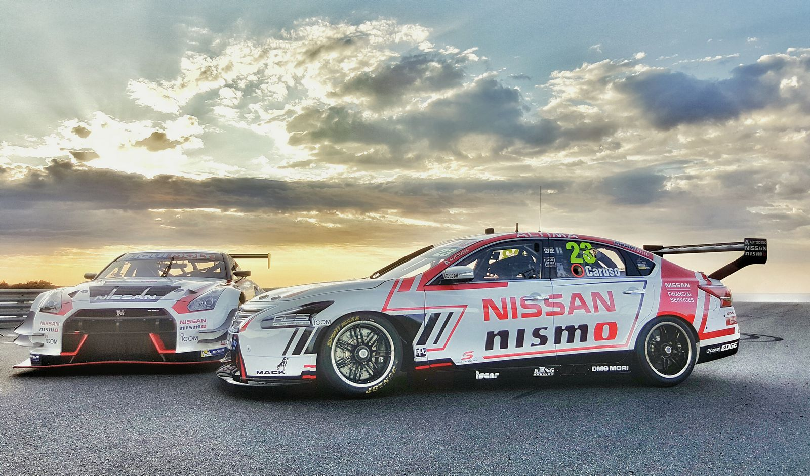 Nissan Launches Altima Supercar And Gt R Nismo