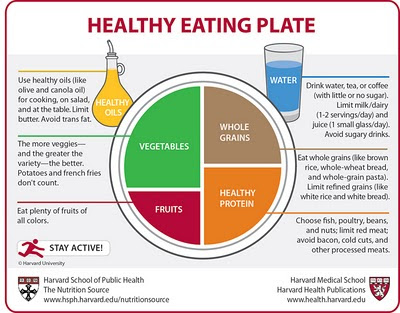 clearly is a modified version of USDA's MyPlate ,...