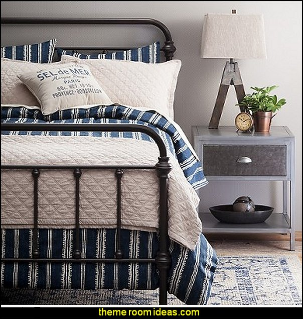 The Industrial Shop Edison Bedroom Collection Theme Bedrooms