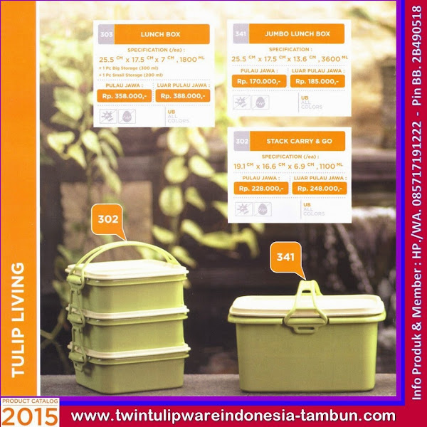 Jumbo Lunch Box, Stack Carry & Go