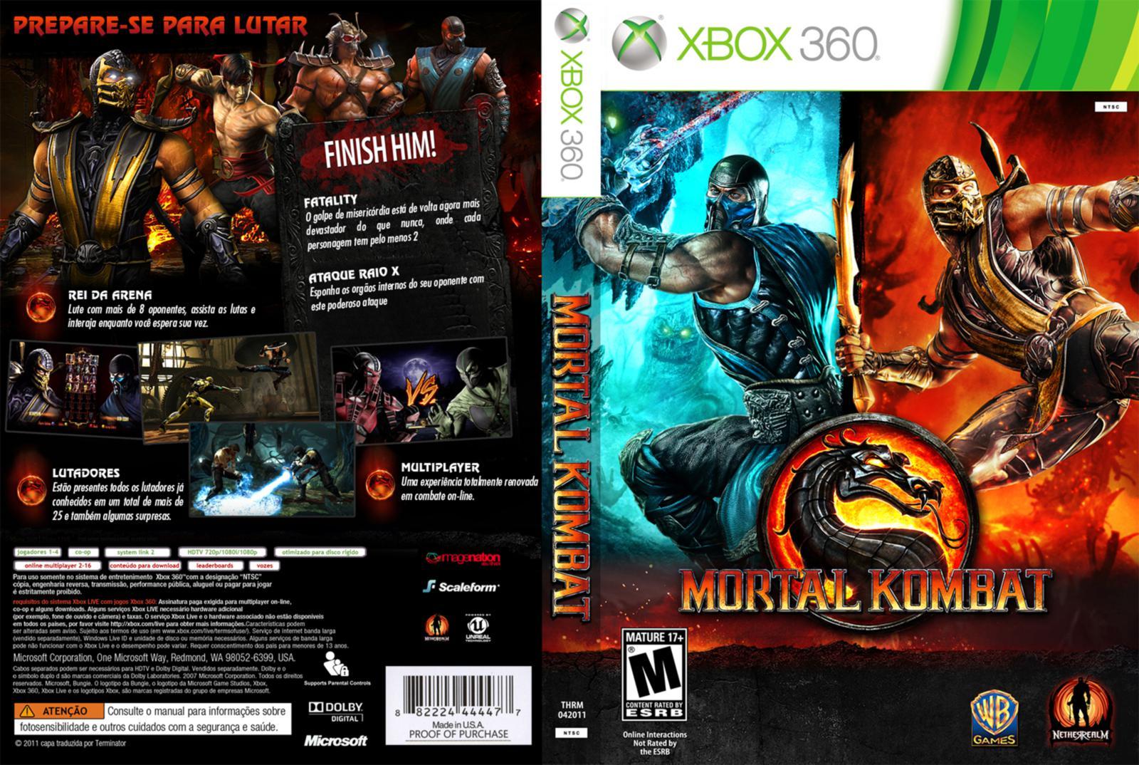 Мортал Комбат 9 На Xbox 360
