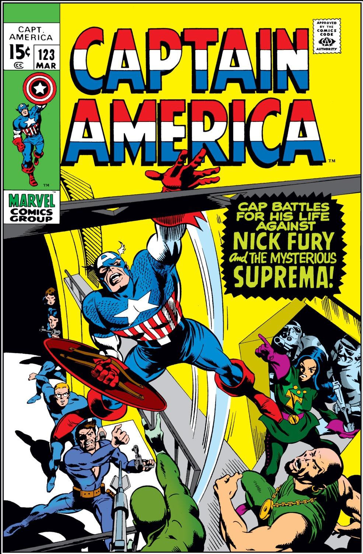 Captain America (1968) Issue #123 #37 - English 1