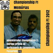 CHAMPIONSHIP F1 MÉMORIAS
