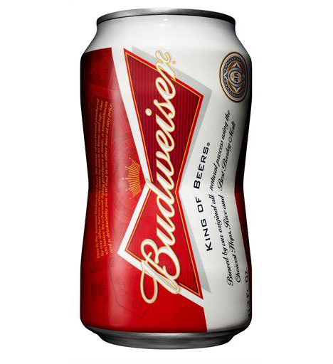 New Budweiser Bowtie Can
