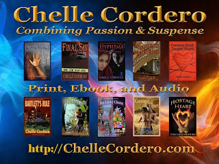 http://chellecordero.com/novels-by-chelle-cordero/