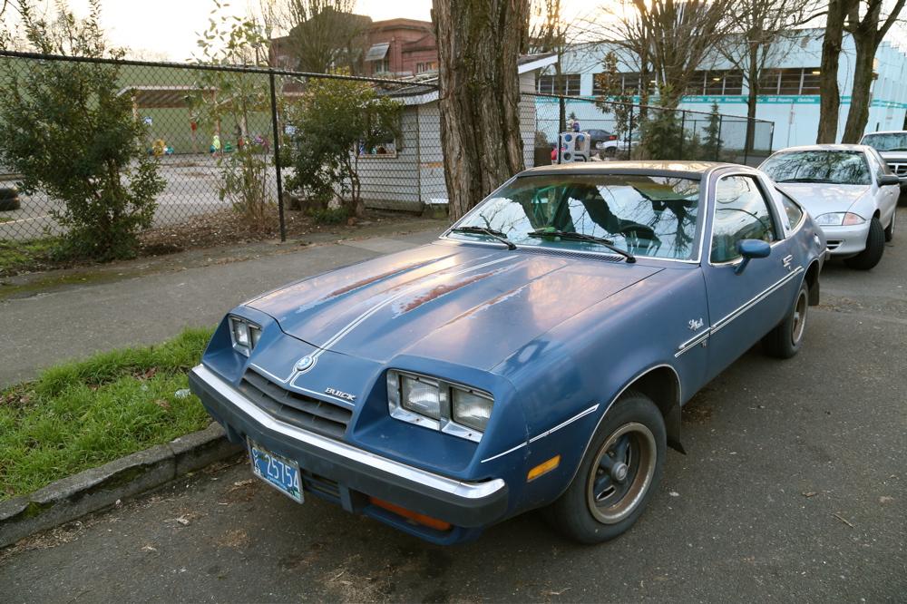 1976 Buick Skyhawk.