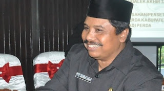 Ketua DPRD Trenggalek di Pindah Ke Rutan Trenggalek