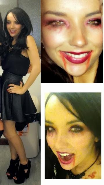scary vampire make up