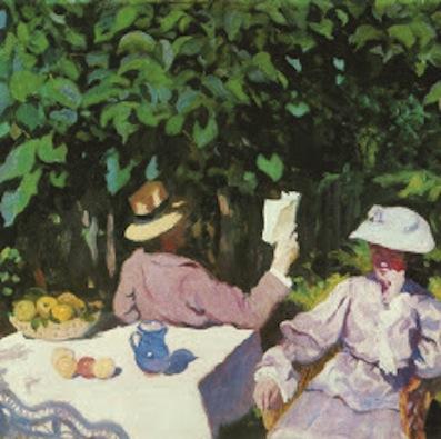 Károly Ferenczy. Morning Sunshine, 1905