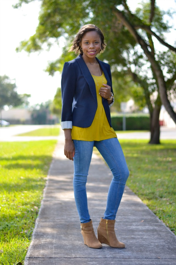 Blazer & Jeans | Fall Outfit Ideas