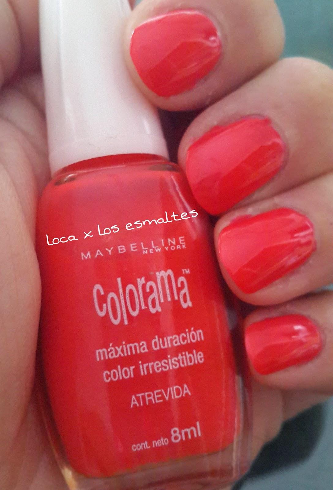 Loca X Los Esmaltes..: Atrevida- Colorama