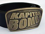 Pasek z klamrą Kapitan Bomba