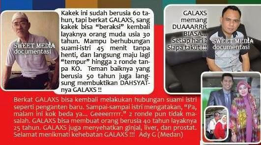 testimoni galaxs tiens, kesaksian galaxs tiens