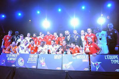 55x54: Gran espectáculo en el partido de las estrellas en Francia | Mundo Handball