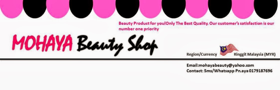 Mohaya Beauty Shop Pemborong Produk Kecantikan~0138433522