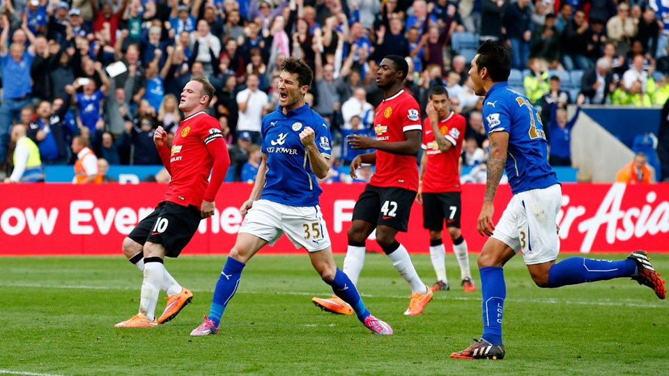 Leicester vs. Manchester United, en la Premier League 2013-14 | Ximinia