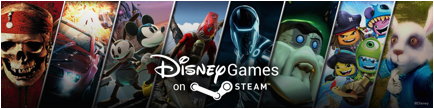 Disney Steam adds More Than 20 Titles for PC