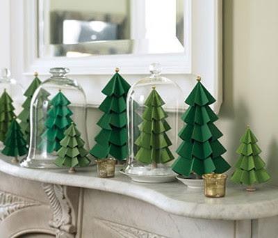 Новогодняя декоративная елка своими руками