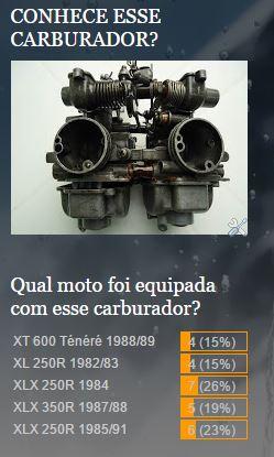 enquete%2Bcarburador%2Bxlx - A XLX250R de 2 carburadores