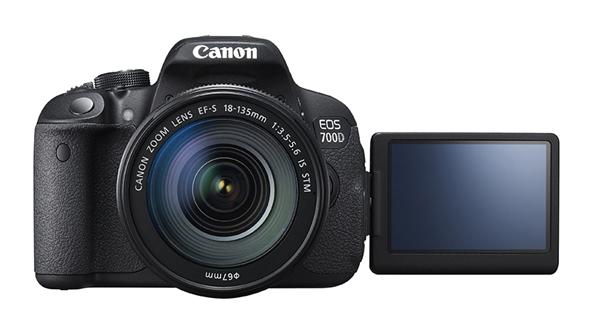 Fotografia della Canon EOS 700D