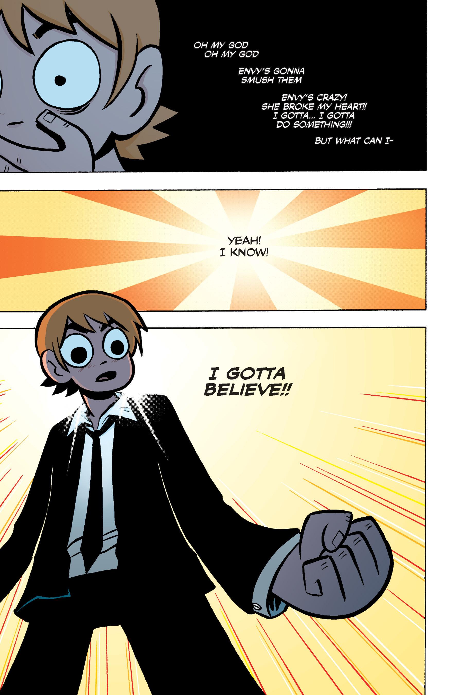 Read online Scott Pilgrim comic -  Issue #3 - 136