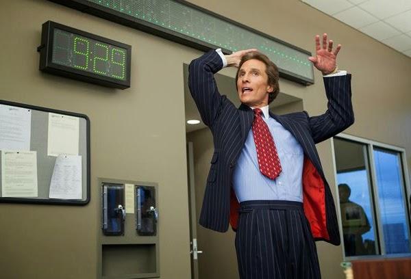 """Matthew McConaughey en """"El lobo de Wall Street"""""""